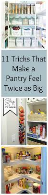 Kitchen Pantry Closet Organization 17 Best Ideas About Pantry Closet Organization On Pinterest