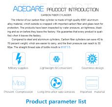 <b>Acecare</b> HPA 4500PSI Composite Air Cylinder <b>PCP</b> Air Rifle <b>airforce</b> ...