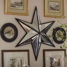 home decor wall mirrors star