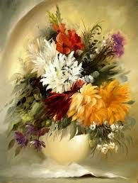 have a look at this beautiful flower series made by this amazingly talented artist