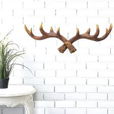 Antler Hook Coat Rack New Decorative Wall Hanging Hooks Vintage Deer Antler Hook Rack Home