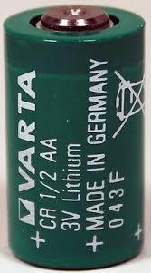 <b>1PC</b> Varta CR1/2 <b>AA</b> 3V Lithium Battery CR14250 - Made in ...