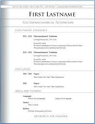 Free Downloadable Resume Templates Fascinating Resumes Format Download Putasgae