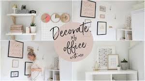 decorate my office. Decorate My Office With Me! | Kate Murnane D