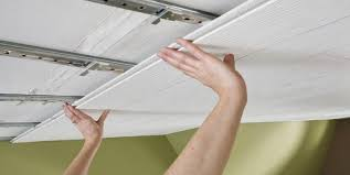 installing ceiling tiles surface mount