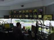 Eurotunnel - le Shuttle, Control panel, Victor Hugo Terminal ...