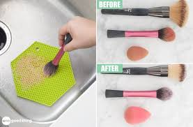 how to clean makeup brushes and how