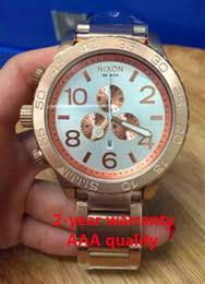 mens watches under 100 suppliers best mens watches under 100 shipping new chrono nixo 51 30 chrono all rose gold chronograph mens watch a083 a083 100 watch