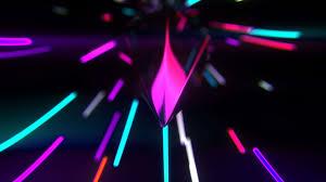 Ultra Hd Dark Neon Wallpaper