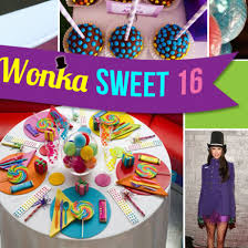 candyland sweet 16 decorations. Beautiful Sweet Willy Wonkainspired Sweet 16 Party Ideas Decor Food U0026 Favors And Candyland Decorations R