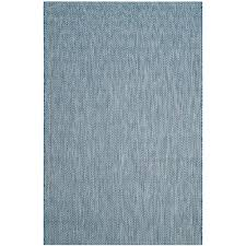 safavieh courtyard navy gray 8 ft x 11 ft indoor outdoor area rug cy8022 36821 8 the home depot