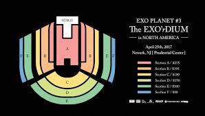 Prudential Seating Chart