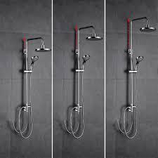 Duschset Duschsystem Brausegarnitur Regendusche Duscharmatur