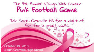 sghs 9th annual pink football game