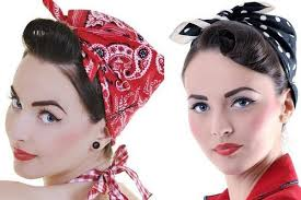 Pin Up Styl Oděvy šaty účesy Make Up