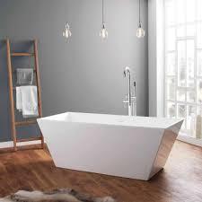 april airton 1650mm x 650mm freestanding bath no tap holes 74001 1600a