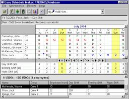 Scheduel Maker Download Easy Schedule Maker 2 00