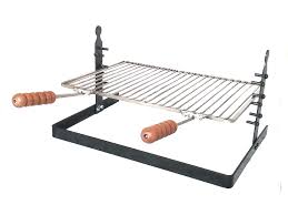 adjule tuscan fireplace camping grill stainless