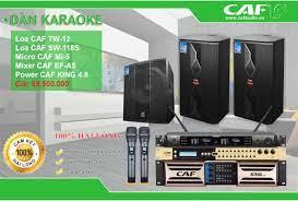 5 thiết bị trong dàn âm thanh karaoke - nghe nhạc gia đình bạn nên biết.