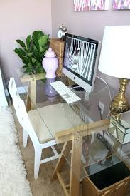 office desks designs. Desk Designs Diy View In Gallery Chic Glass Computer Home Interior Design Trends 2018 . Office Desks
