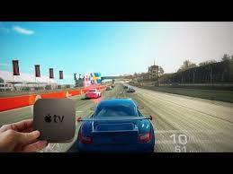 playing real racing 3 on apple tv you