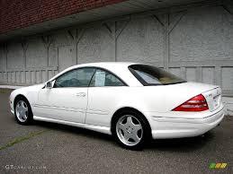 2001 Glacier White Mercedes-Benz CL 600 #11578926 Photo #10 ...