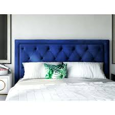 Navy Velvet Headboard Navy Blue Tufted Headboard Furniture Q Queen Headboard  In Diamond Tufted Bedrooms