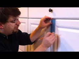 Install Cabinet Door Knobs YouTube Extraordinary Installing Knobs On Kitchen Cabinets