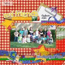 Kindergarten Borders Digital Scrapbooking Kits Kindergarten Kisses Borders Kathryn