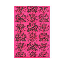 strawberry pink 8 ft x 10 ft area rug