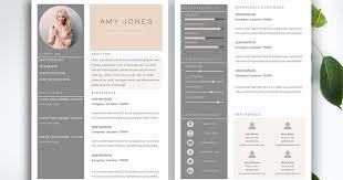Modern Typographic Resume Set 34 Best Modern Design Resume Templates Simplefreethemes