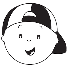 Halloween Template Caillou Pumpkin Carving Template Happy Halloween Pbs Parents Pbs