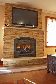 this is the related images of Gas Stone Fireplace