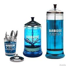 Barbicide Jar Decorative Barbicide Disinfectant Jar For Salons Barbershop EBay 86