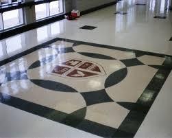 Terrazzo Kitchen Floor High School Foyer Floor Fritztile Terrazzo Tile Floor Fritztile