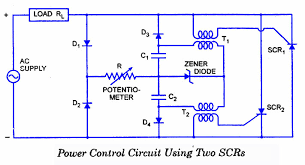 scr applications electronic circuits and diagrams electronic scr power control circuit