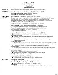 Trending Product Manager Cv Example Resume New Examples - Sradd.me