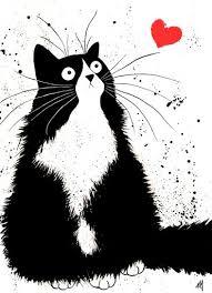 Image result for cat art pinterest
