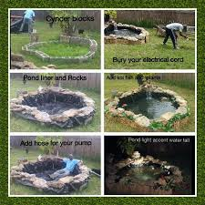 best 25 building a pond ideas