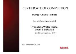 rinnai tankless water heater troubleshooting chuck the water guy is certified in both installation long term care of rinnai tankless water heaters you can buy one or rent one call us for details