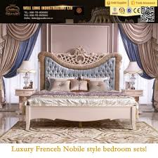 Royal Luxury bedroom set classic french elegant bedRomantic