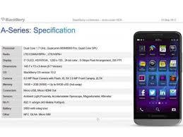 BlackBerry A10 bringing the big screen ...