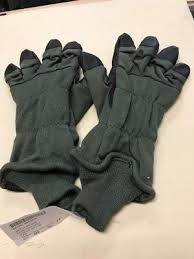 intermediate cold weather flyers glove army intermediate cold weather flyers gloves hau 15 p sz 10 new