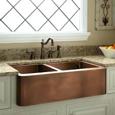 kitchen sink grids. Copper Kitchen Sink Offset Double Bowl Farmhouse Small Grids .