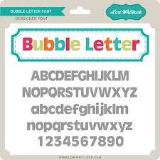 LW Bubbler Letter Font 450 450 c=2