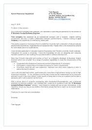 Letter Of Resume Tram Nguyen Cover Letter Resume It Business Analyst Software En