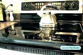 cast iron on glass cooktop glass top stove cast iron glass top stove can best and