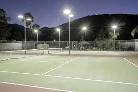 led tennis lighting ge club