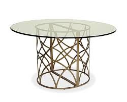 designs sedona table top base: dining room modern dining table dining room modern dining table idea using round glass tabletop combine with round wrought brass pedestal dining room tables pedestal base