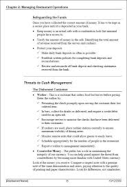 Training Manual Template Restaurant Manager Training Manual Template